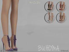 The Sims 4 Madlen Buhoma Shoes The Sims 2, Sims 4 Mm Cc, Sims Four, Sims 4 Cas, Sims 1, Sims 4 Mods Clothes, Sims 4 Clothing, Maxis, Sims 4 Black Hair