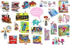 Here are some Toy Suggestions to meet your budget...   To order: http://www.shopaholic.com.ph/