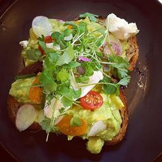 Who can pass up avocado?? Smashed avocado on @tivoliroadbakery soy and linseed toast with Meredith's feta, cherry tomatoes and breakfast radish. #delish #melbournecafe #melbourne #melbournefoodie #southyarra #foodporn #avocado #foodgasm #foodie #melbourneblogger #igersmelbourne #foodpic #regram  @motaha1