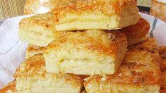 Mennyei kockaformájú pogácsa- két isteni összetevővel - Kiskegyed Hot Dog Buns, French Toast, Bread, Breakfast, Pizza, Bridge, Morning Coffee, Brot, Baking