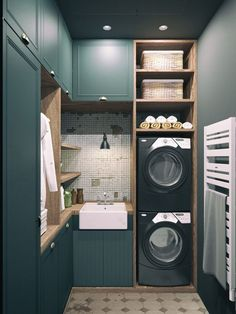 Laundry room cabinets get inspired by our laundry room storage ideas and designs. Allow us to help you create a functional laundry room with plenty of storage and wall cabinets that will keep your laundry. Laundry Closet, Laundry Room Storage, Laundry In Bathroom, Laundry Area, Storage Room, Laundry Hamper, Small Bathroom, Utility Room Storage, Basement Laundry