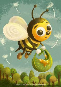 Beezy Bee by LouisDavilla.deviantart.com on @DeviantArt