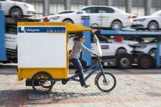 Startups revolutionieren City-Logistik mit Cargobikes