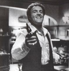 James Caan doing his Cagney impression on set of the Godfather