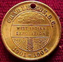 Exposition souvenir medallion