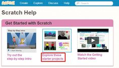 Scratch Resources English Resources, Get Started, Facts, Teaching, Projects, Log Projects, Learning, Education, Tile Projects