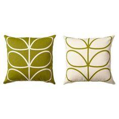 Orla Kiely Cushion 45x45cms Linear Stem Apple | 60.00 USD from BlissHome UK
