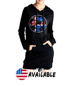 B077CNXRNB : Womens Flag Of Iceland On Soccer Ball 0 Casual Sweatshirt Tunic Slim Fit Hoodie Pockets Dress. 100% CottonComfortable To Wear. Fashion Style:Tunic Hoodie  Hip Length Front Pockets Adjustable Drawstring Tie And Long Sleeves. Hoodie Dress Is Chic Sporty And Sexy To Show Your Charm; The Right Dress Is Always Easy To Make A Dramatic Entrance At A PartyclubHallowmas And Also Suitable For Casual Work Travel. Machine Wash Cold With Like Colors / Do Not Bleach