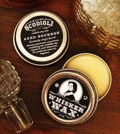 Aged Bourbon Whisker Wax