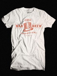 Mad Brew T-Shirt Design by Adam Hill