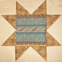 Civil War Quilts: Stars in a Time Warp 34: Bronze-style Prints