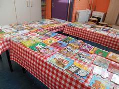 Wij hebben als afsluiting van de kinderboekenmaand een boekenruilmarkt georganiseerd. Het kostte wel wat voorbereiding, maar het was echt ontzettend leuk en zeker de moeite waard! Wat is een kinderboekenruilmarkt? Alle kinderen hadden een week de tijd om oude kinderboeken in te leveren. Natuurlijk stelden we wel eisen, de boeken mochten niet beschadigd, bekrast of ouderwets zijn. Wij bekeken alle boeken en sorteerden ze op onder- en bovenbouw. De boeken werden uitgesteld en tijdens de…