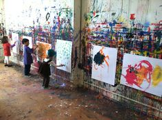 Portland Child Art Studio photos of childrens art