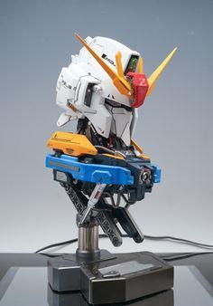 GUNDAM GUY: GSM 1/24 MSZ-006 Zeta Gundam Head Model - Painted Build w/ LED