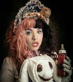 Melanie Martinez looking lovely as always ❤💛💚💙💜 Cry Baby, Mealine Martinez, Melanie Martinez Drawings, Crybaby Melanie Martinez, Melanie Martinez Mad Hatter, Billie Eilish, Crying, Just For You, Celebrities