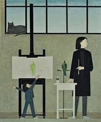 "Will Barnet (American: 1911 –2012) - Gramercy Park"""