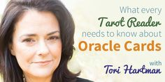 What every Tarot reader needs to know about oracle cards - with Tori Hartman.