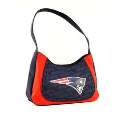 ONE NEW ENGLAND PATRIOTS, CURVE HOBO SWAG PURSE FROM LITTLE EARTH #LittleEarth #NewEnglandPatriots