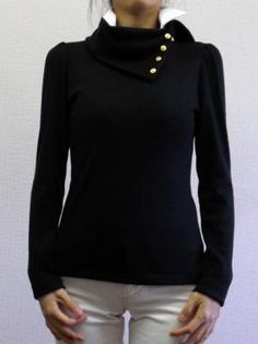 スペアカラー付オフタートルTシャツ(カットソー 高~中テンション用パターン)