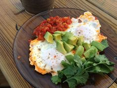 Try this savory and protein packed breakfast. It's easy and who doesn't love avocados??