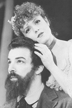 """Bernadette Peters and Mandy Patinkin in """"Sunday in the Park with George,"""" 1984. I LOVE THIS MUSICAL"""