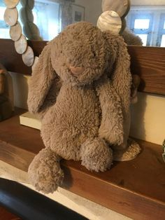 This bunny has been reunited. YAY!! ---- Found on 11 May. 2016 @ Westgate Street, Bath, England. Found a well loved Jellycat bunny near Greggs on Westgate Street in Bath. It's desperate to find its loving owner. Can you help? Visit: https://whiteboomerang.com/lostteddy/msg/55z3gw (Posted by Sophie Kerr on 11 May. 2016)