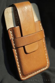 iPhone 6 Leather Case. By Leon Litinsky.