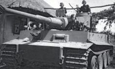 One of the Totenkopf Division brand-new Tiger after its arrival at Budy (southwest of Kharkov) in May 1943