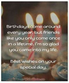 50 funny (and funny) happy birthday quotes that will make your best friend . - 50 funny (and funny) happy birthday quotes that you can use to send your best friend on her big day - Message For Best Friend, Birthday Message For Friend, Birthday Wishes For Him, Messages For Friends, Happy Birthday Fun, Birthday Messages, Birthday Gifts, Birthday Images, Birthday Parties