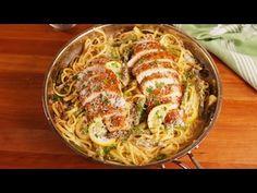 Best Lemon Asparagus Chicken Pasta Recipe - How to Make Lemon Asparagus Chicken Pasta