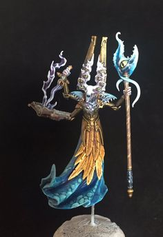 @Kelfrei's Gaunt Summoner. Warhammer Quest, Silver Tower, Age of Sigmar