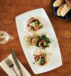 Fennel Roasted Scallops and Clam Linguini Market Restaurant + Bar.