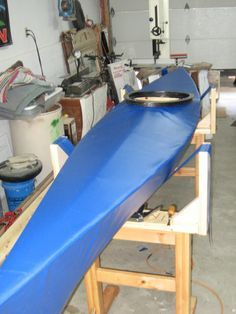skin on frame kayak no 1 of 2. The easiest and lightest way to build a boat.