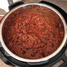 Pressure Cooker Competition Chili Con Carne via @thisoldgalcooks