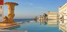 Oyster Box Hotel Pool View Hotel Pool, Africa, Outdoor Decor, Dining, Box, Home Decor, Food, Snare Drum, Decoration Home