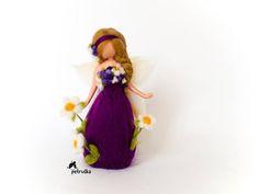 exclusivo resorte flor Petruska hadas púrpura la aguja de