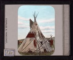 """Historically, most tipis in a village would not be painted. Painted tipis often depicted note-worthy historical battles and often featured geometric portrayals of celestial bodies and animal designs. Sometimes tipis have been painted to depict personal experiences, such as war, hunting, a dream or vision. When depicting visions, """"ceremonies and prayers were first offered, and then the dreamer recounted his dream to the priests and wise men of the community."""