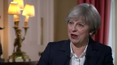 "Theresa May says the UK will have a ""different relationship"" with the EU but ""the same benefits""."