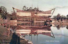 1957 - Pavilhão da CSN no Parque do Ibirapuera. Construido em 1954 quando das festividades do Quarto Centenário.
