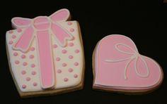 Galletas decoradas en rosa