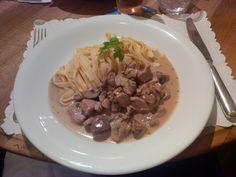 Züri Gschnätzlets @ Restaurant Neumarkt traditional swiss food at its best!