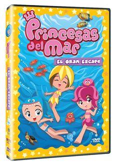 Diseño publicitario de DVD's - Stop Diseño Gráfico - Diseño de El gran escape - Princesas del mar - Southern star.