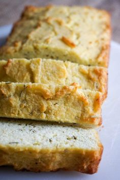 Rosemary and Garlic Coconut Flour Bread - KetoConnect