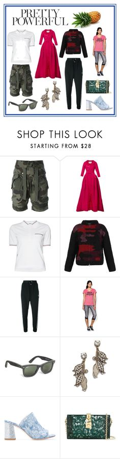 """Pretty Powerful..."" by cate-jennifer ❤ liked on Polyvore featuring Faith Connexion, Carolina Herrera, Thom Browne, Lala Berlin, adidas Originals, Under Armour, Brooks Brothers, Lulu Frost, Polly Plume and Dolce&Gabbana"