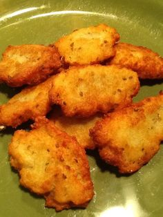 Yucca Fritters (Arepitas de Mandioca). Made these once and i cant stop thinking about them... So good