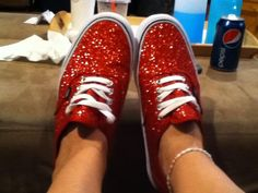 my version of ruby slippers