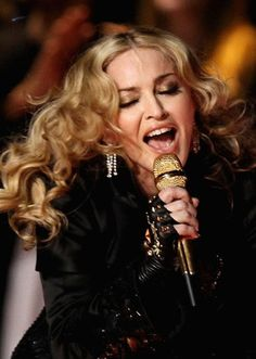 Look at Madonna's Dressing Style at Super Bowl XLVI