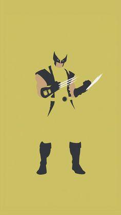 Wolverine Vector iPhone 5C / 5S wallpaper