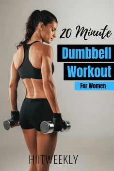 Melt fat and tone muscle with this dumbbell workout for women to lose weight. An… Melt fat and tone muscle with this dumbbell workout for women to lose weight. Another awesome workout with weights. Quick Weight Loss Tips, Weight Loss Help, Losing Weight Tips, Weight Loss Goals, Weight Loss Program, Weight Loss Transformation, How To Lose Weight Fast, Reduce Weight, Weight Gain