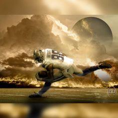 """Deztroyer"" (by Mario Aguilar Official Dallas Cowboys Artist) #DallasCowboys #CowboysNation #CowboysCamp #Cowboys"